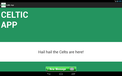 Celtic FC App- screenshot thumbnail