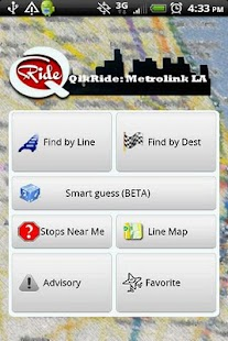 QikRide: Metrolink LA - screenshot thumbnail