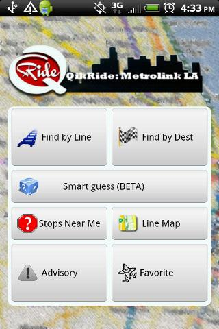 QikRide: Metrolink LA - screenshot