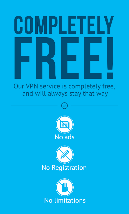 Hola VPN gratuito- screenshot