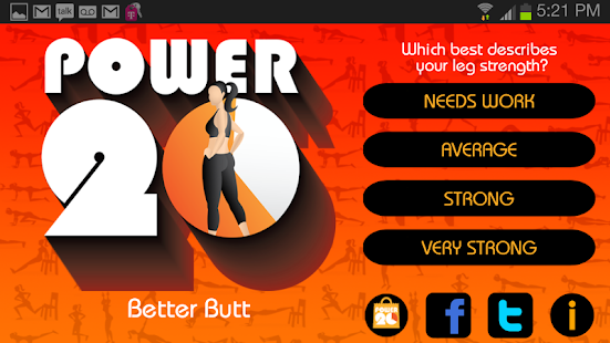 Power 20 Better Butt Free - screenshot thumbnail