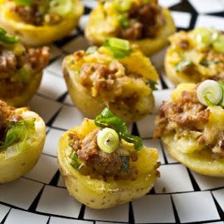 Chorizo Potato Bites.