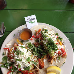 Spicy chicken tacos ($10)