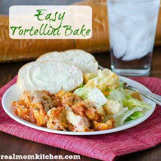 Easy Tortellini Bake