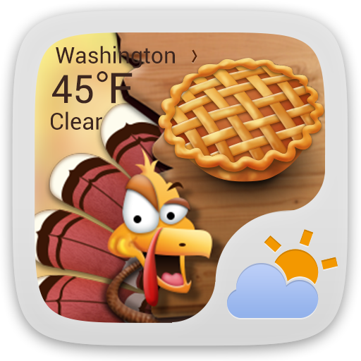 Dinner of Thanksgiving Theme 天氣 App LOGO-硬是要APP