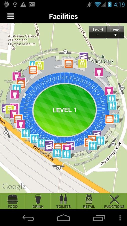 Melbourne Cricket Ground- screenshot