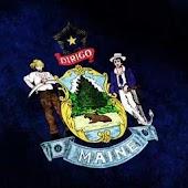 Maine Flag Live Wallpaper
