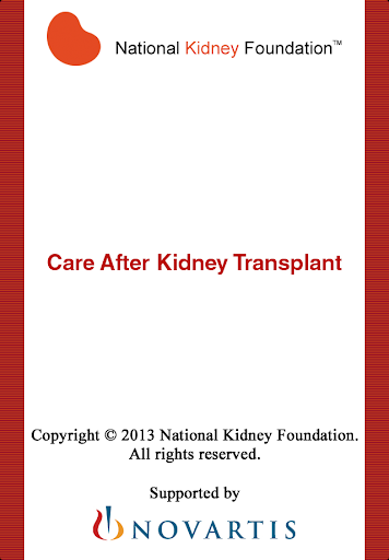 Care After Kidney Transplant