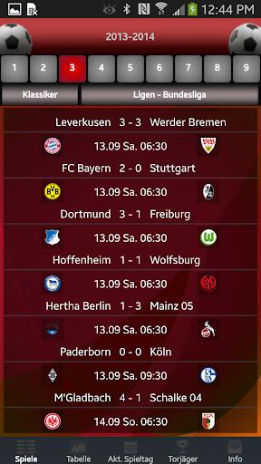Bundesliga Fussball