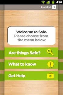 R U Safe?- screenshot thumbnail
