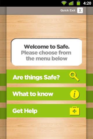 R U Safe?- screenshot