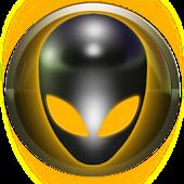 poweramp skin alien yellow