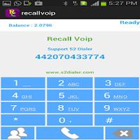 Screenshot of Recall Voip