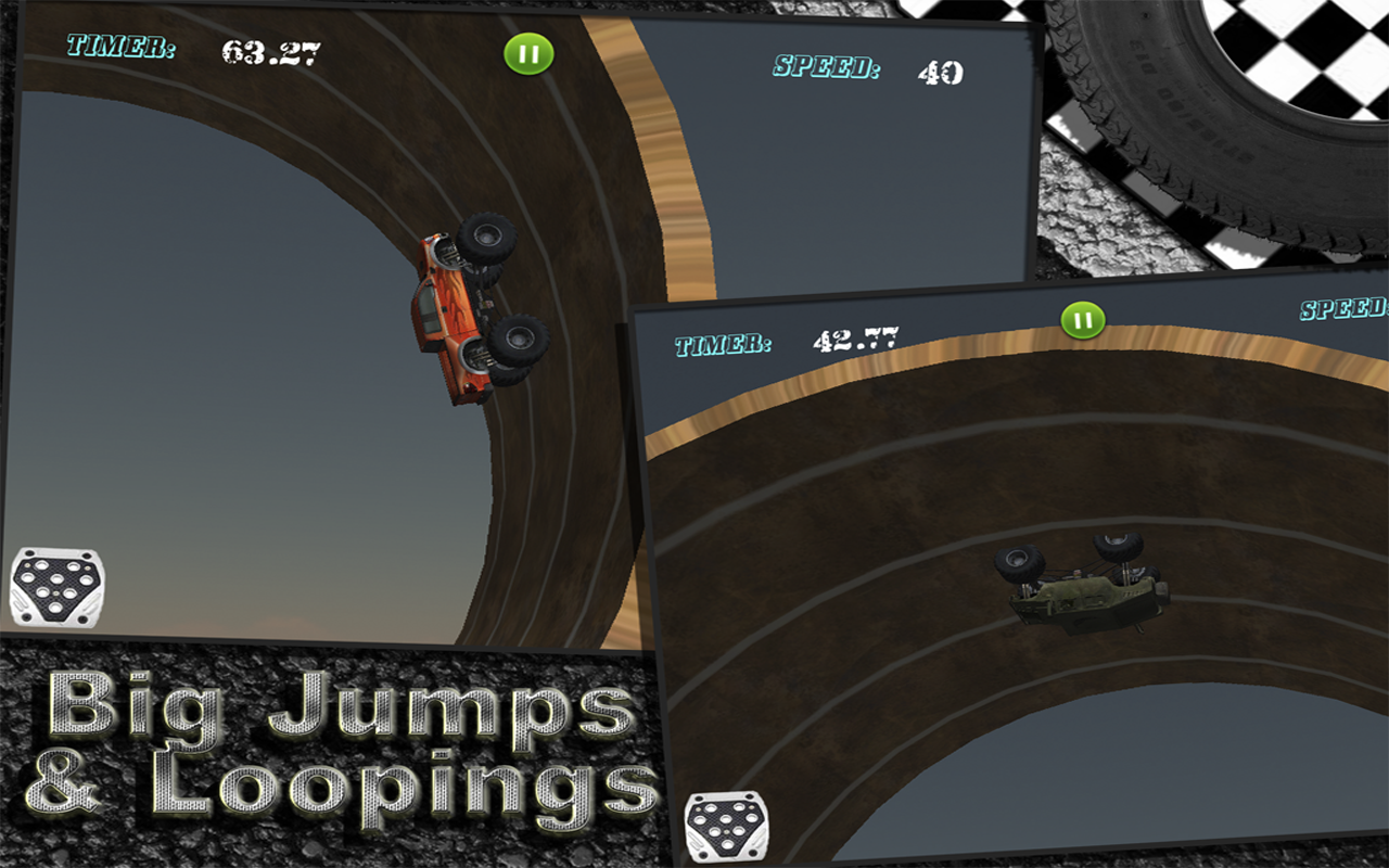 monster truck racing free android apps on google play
