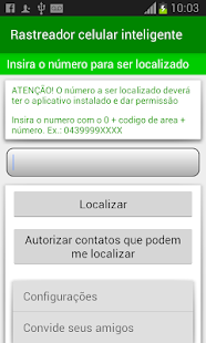 Rastreador celular Inteligente- screenshot thumbnail