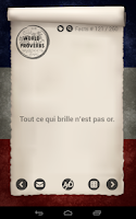 Screenshot of Les proverbes français