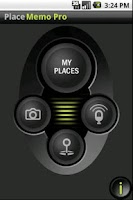 Screenshot of PlaceMemo Pro