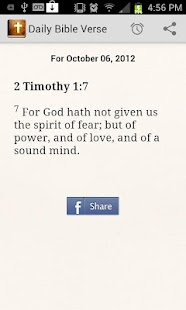 Daily Bible Verse - screenshot thumbnail