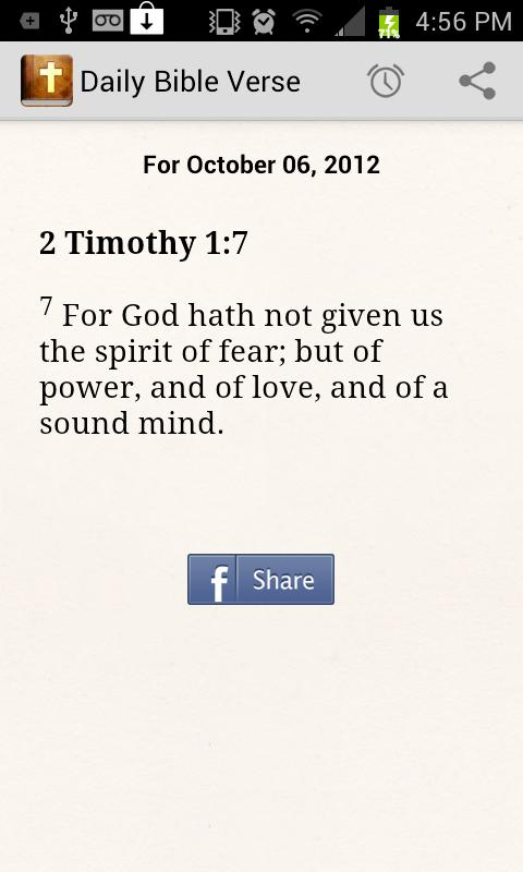 Daily Bible Verse - screenshot