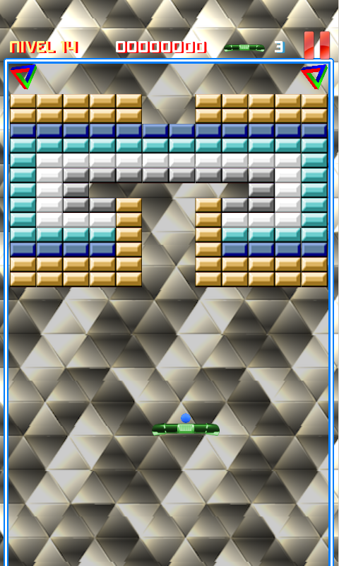 Arkamania (Arkanoid Clone)- screenshot