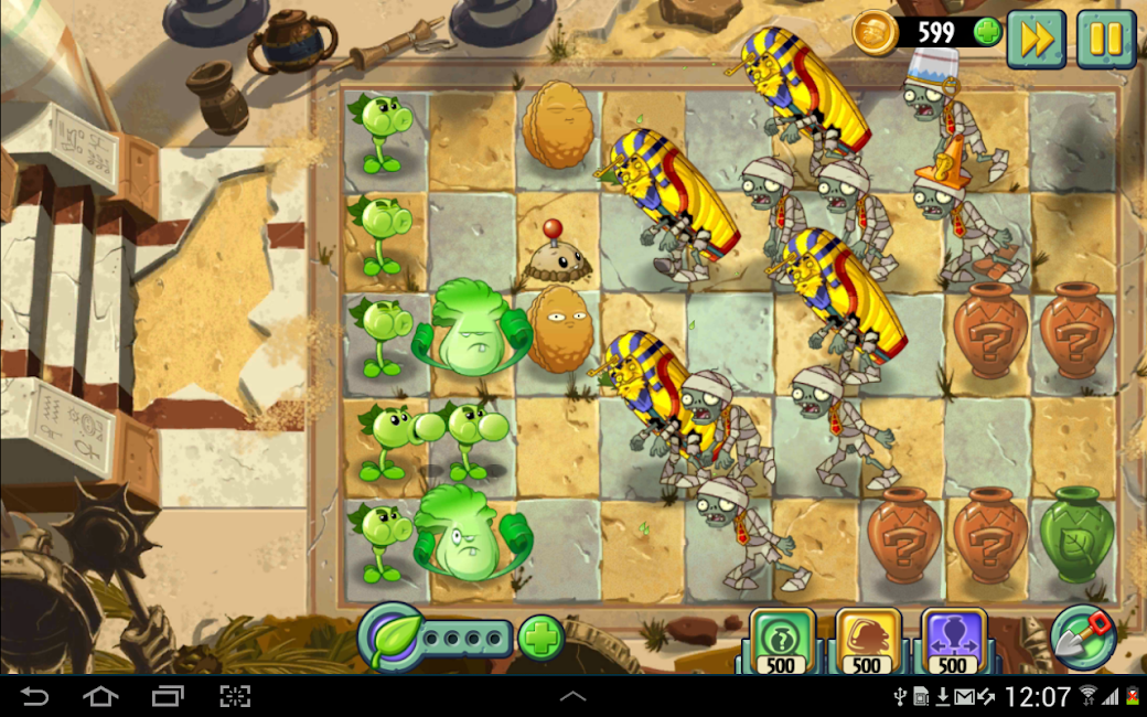 #12. Plants vs. Zombies 2 (Android)