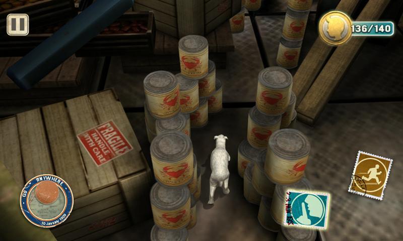 The Adventures of Tintin screenshot #4