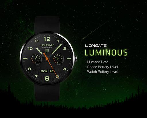 Luminous watchface by Liongate
