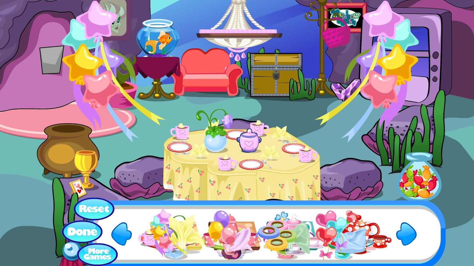 Princess Tea Party Dress Up Games - Boutique Prom Dresses