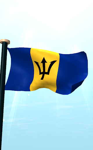 玩個人化App|Barbados Flag 3D Free免費|APP試玩