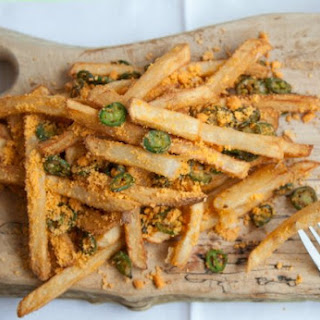 Ultimate Spicy Cheese Fries.