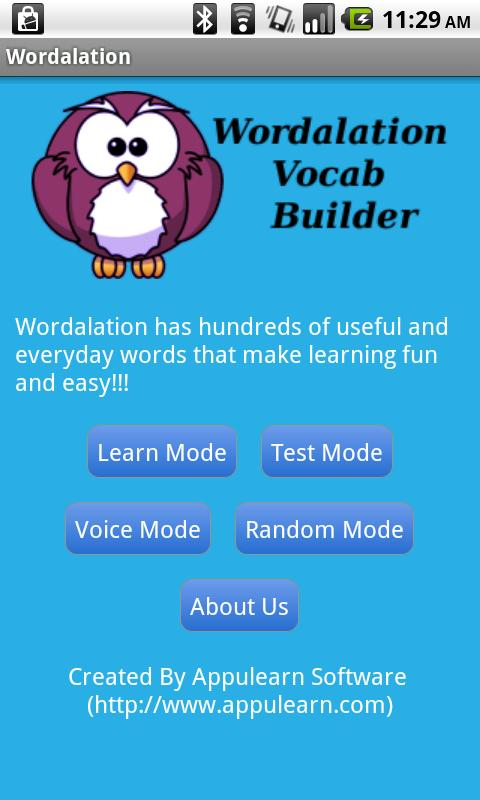 Wordalation Vocab Builder - screenshot
