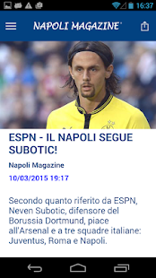 Napoli Magazine- screenshot thumbnail