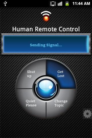 Human Remote Control- screenshot
