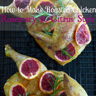 Roasted Chicken with Citrus and Rosemary