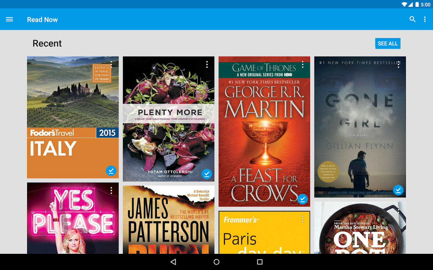 Google Play Books- screenshot