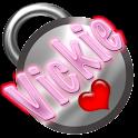 Vickie Name Tag logo