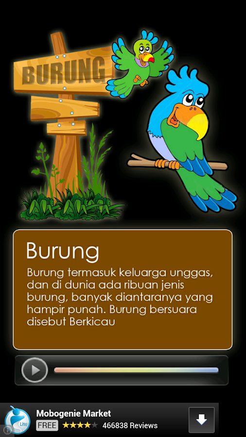 Mengenal Binatang - screenshot