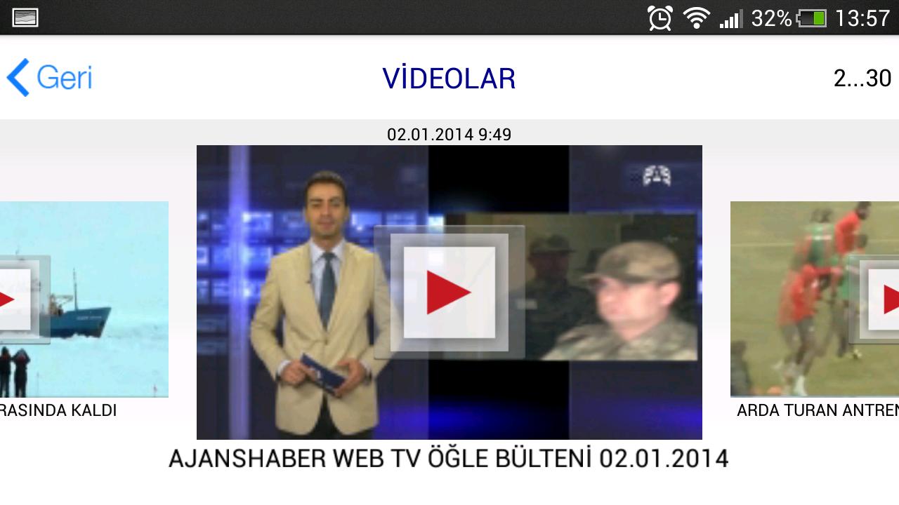 Ajans Haber - screenshot
