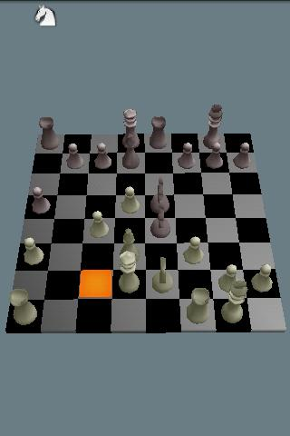 AndroidKnight 3D Chess Donate - screenshot