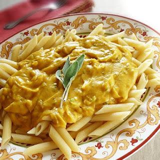 Pasta with Butternut Parmesan Sauce Recipe