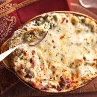 Creamy Artichoke Lasagna Bake