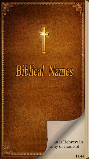 Biblical Names with Meaning