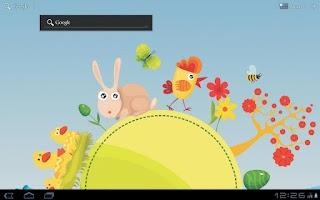 Screenshot of Easter Carousel Wallpaper