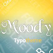 Moody Typo Theme