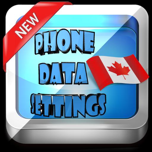 Canada Phone Data Settings
