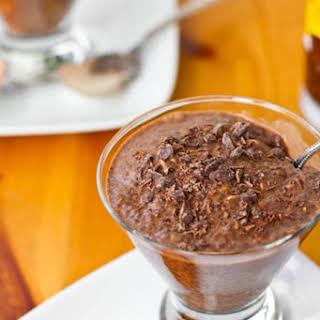 Healthy Chocolate Chia Pudding.