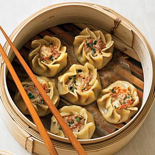 Pork and Shrimp Dumplings (Shu Mai).