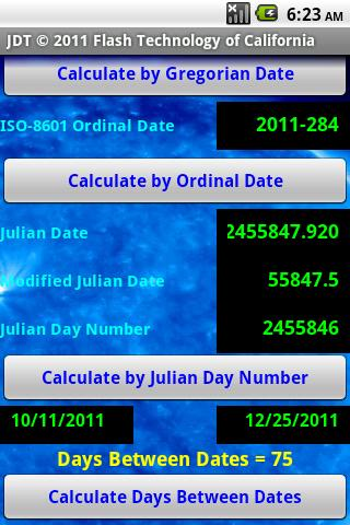 Julian Date Tool Pro - screenshot