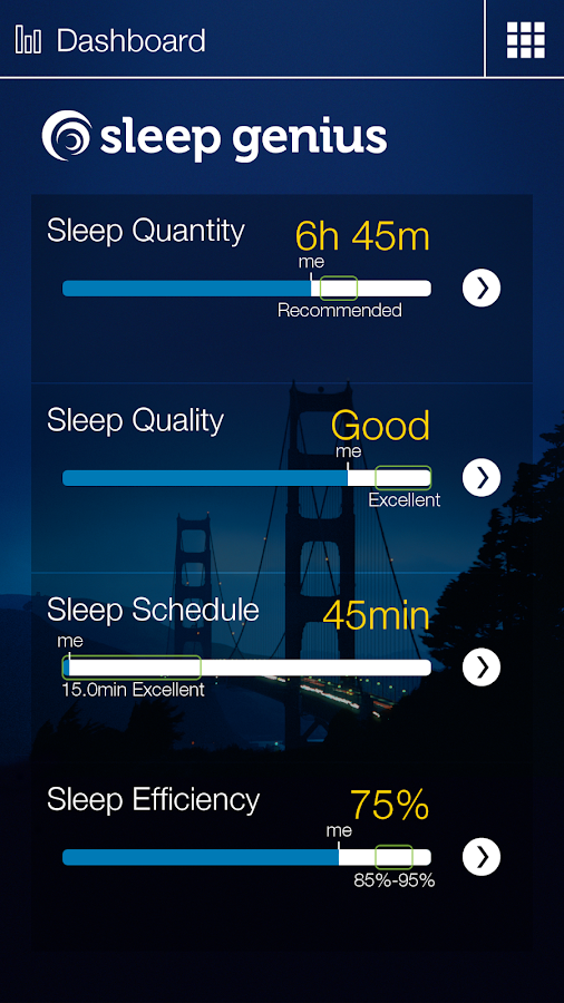 Sleep Genius With Alarm- screenshot