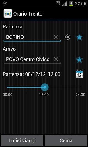 Timetable Trento Free